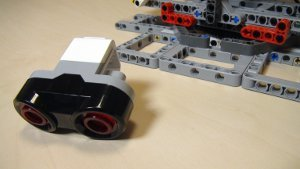 Image for How to use the Ultrasonic Sensor with the Catapult built from EV3/NXT (Part 5)