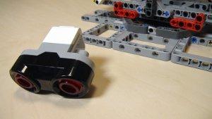 Image for EV3-G programs form running the catapult with ultrasonic sensor