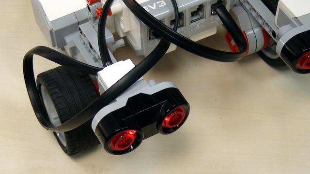 Image for Simpler program for the Mindstorms Ultrasonic sensor