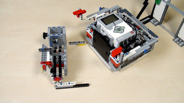 Image for Improving FLL Robot Game. Task. Lift with a Rack