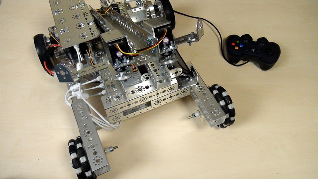 Image for Tetrix Gamepads. Simple program for moving the robot with the gamepads