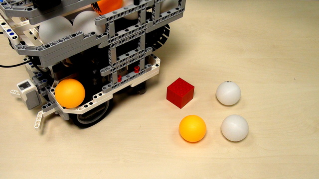 Image for Contain and release ping pong balls - part 2
