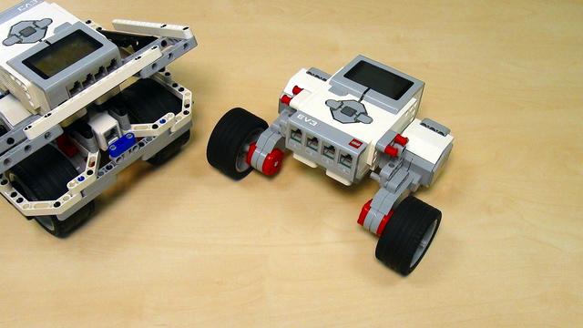 Image for EV3 basics course. Precise motor programming. Tasks (part 8)