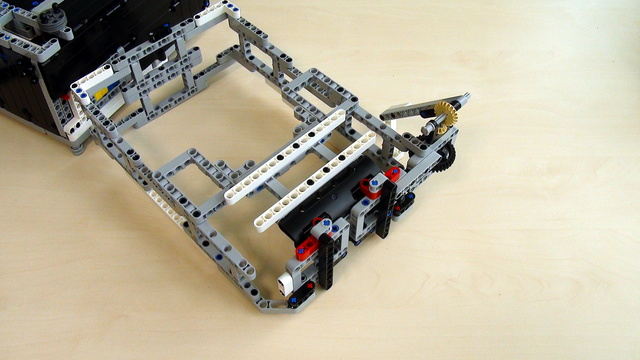 Image for Attachments for Box Robot for Robotics Competitions. Active Attachment at the top of the Robot