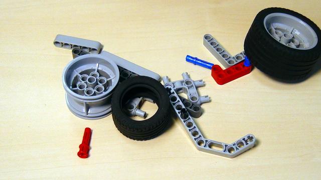 Image for Имена на най-използваните части в LEGO Mindstorms комплекта