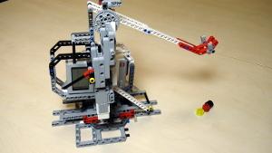 Image for Catapult built from LEGO Mindstorms EV3/NXT (Part 2 - Base)