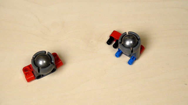 Image for Importance of the caster ball on the LEGO Mindstorms robot movement