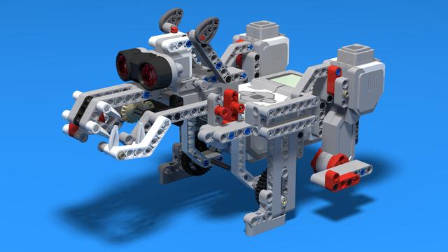 Image for Polar Bear - LEGO Mindstorms EV3 Robot that looks like a polar bear
