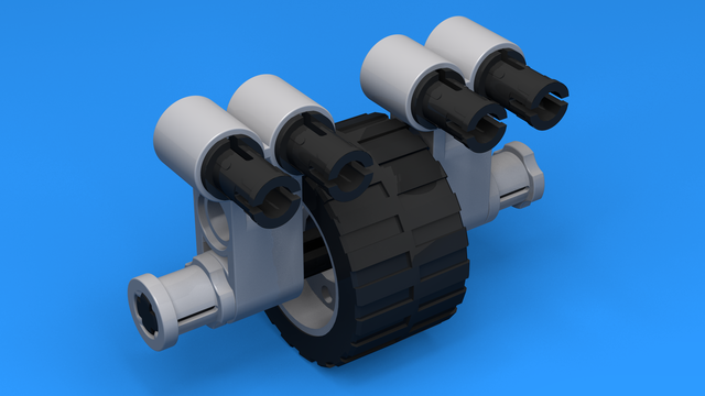 Image for Third Wheel Construction 4 for LEGO Mindstorms robots