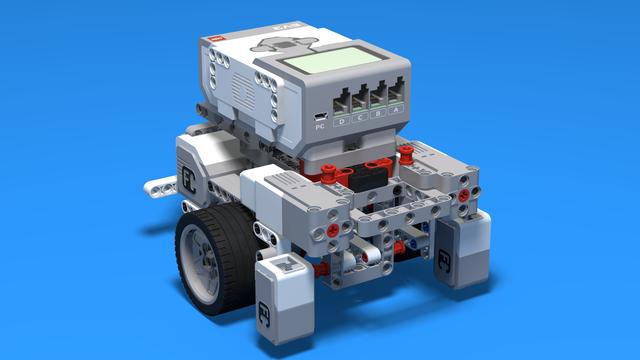 Image for LEGO Mindstrorms EV3 Robot Base with 56mmTiresV1