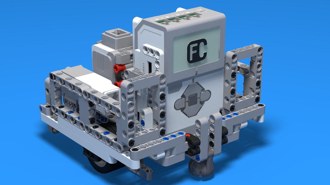 Image for Vertical Robot Base Chassis for LEGO Mindstorms EV3