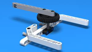 Image for Active attachment for changing gear orientation