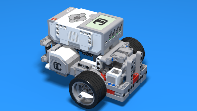 Image for (In development) Build Light Competition Robot