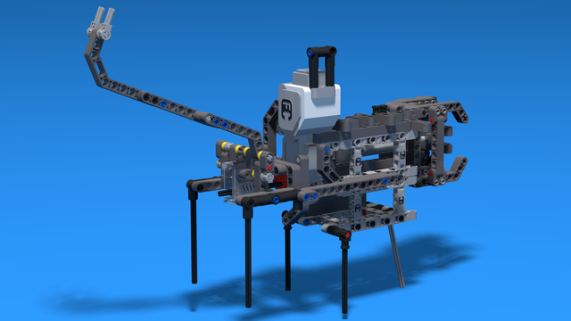 Image for Building instructions for the attachment with the LEGO Technic Linear Actuator
