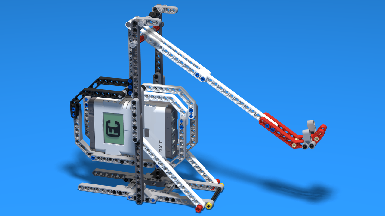 Image for Building instructions for Catapult Robot from LEGO Mindstorms kit