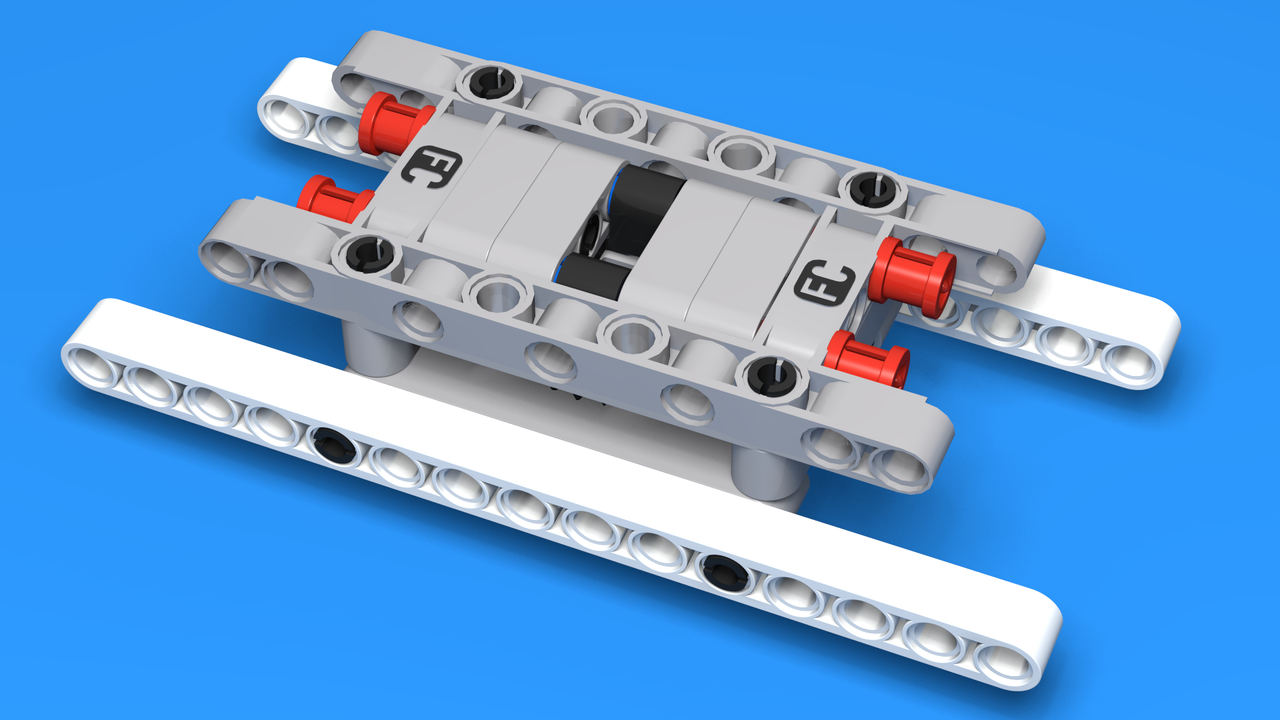 Image for Rotation frame constructed from EV3 set