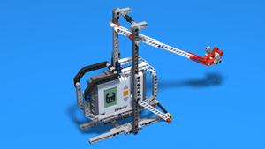 Image for Catapult Frame - LEGO Mindstorms construction for a frame of a catapult