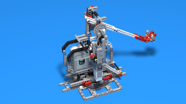 Image for Have fun throwing objects with a Catapult. Robot 9