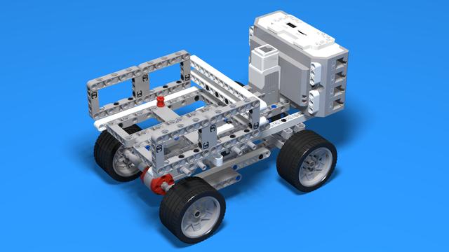 Image for Mack - Truck built from LEGO Mindstorms EV3