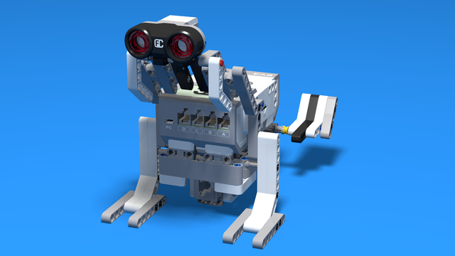 Image for Frog Bot - LEGO Mindstorms Robot that could jump