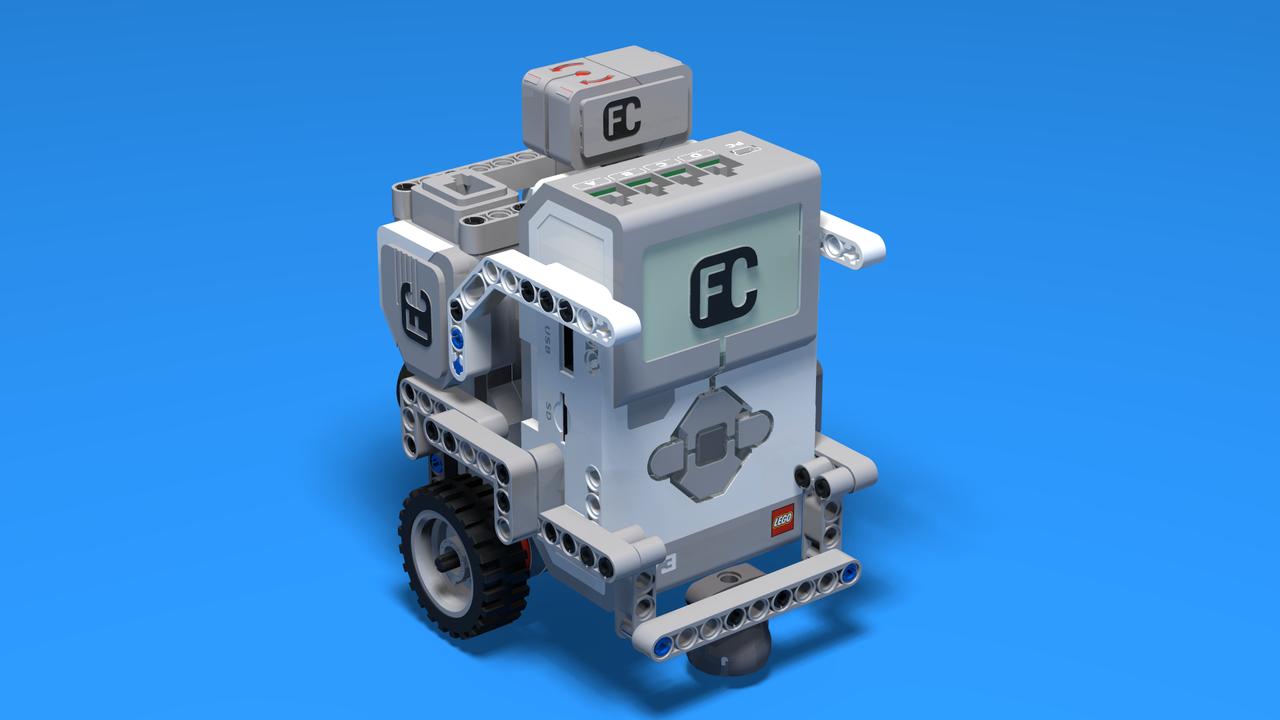 Image for Maze Runner - LEGO Mindstorms Robot for maze runs