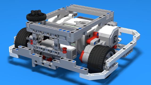 """Image for Двойник на """"Box"""" робота - Олекотена версия на ЛЕГО Mindstorms робота, при който се спазват принципите, използвани при """"Box"""" робота"""