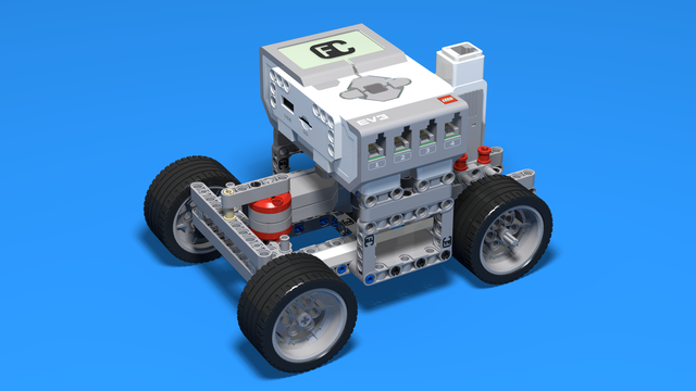 Image for Francesco - Simple LEGO EV3 Car with differential rear-wheel-drive