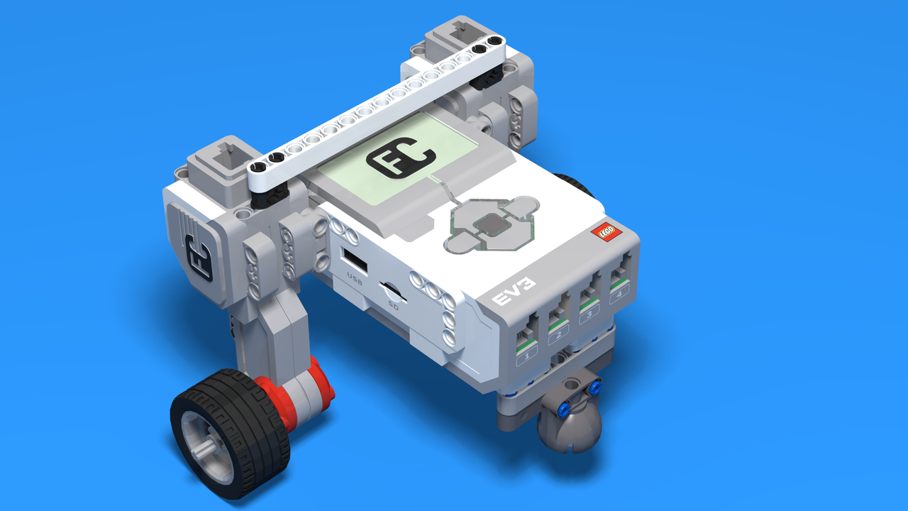 Image for Bult Bot - One Step Motor Attachment LEGO Robot
