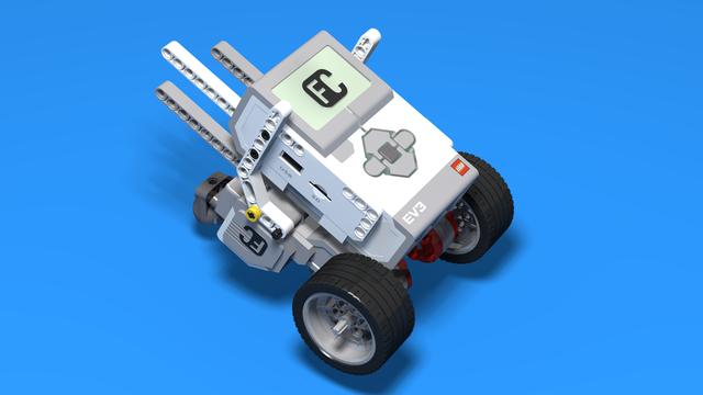 Image for Idat Bot - Sturdy Motor Attachment of Motors for LEGO Mindstorms EV3 Robot