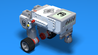 Image for Миг бот – ЛЕГО робот с вертикален мотор