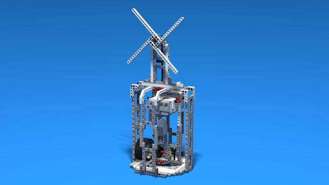 Image for Windy - LEGO Mindstorms EV3 Windmill robot