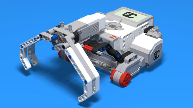 Image for Earl Bot. Finish the construction. Baseball move. Robot 4