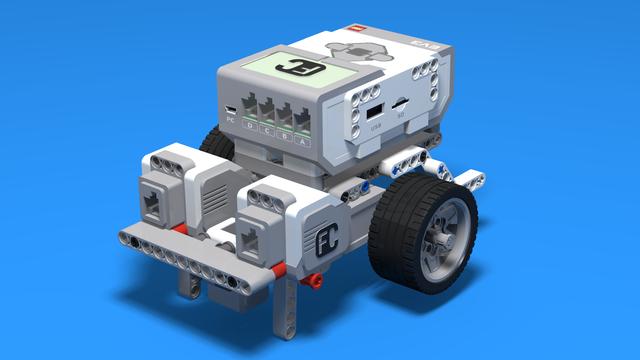 Image for Led - Simple LEGO Mindstorms EV3 Line following robot