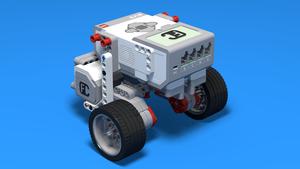 Image for LEGO Mindstorms робот с метално топче (CastorBot)