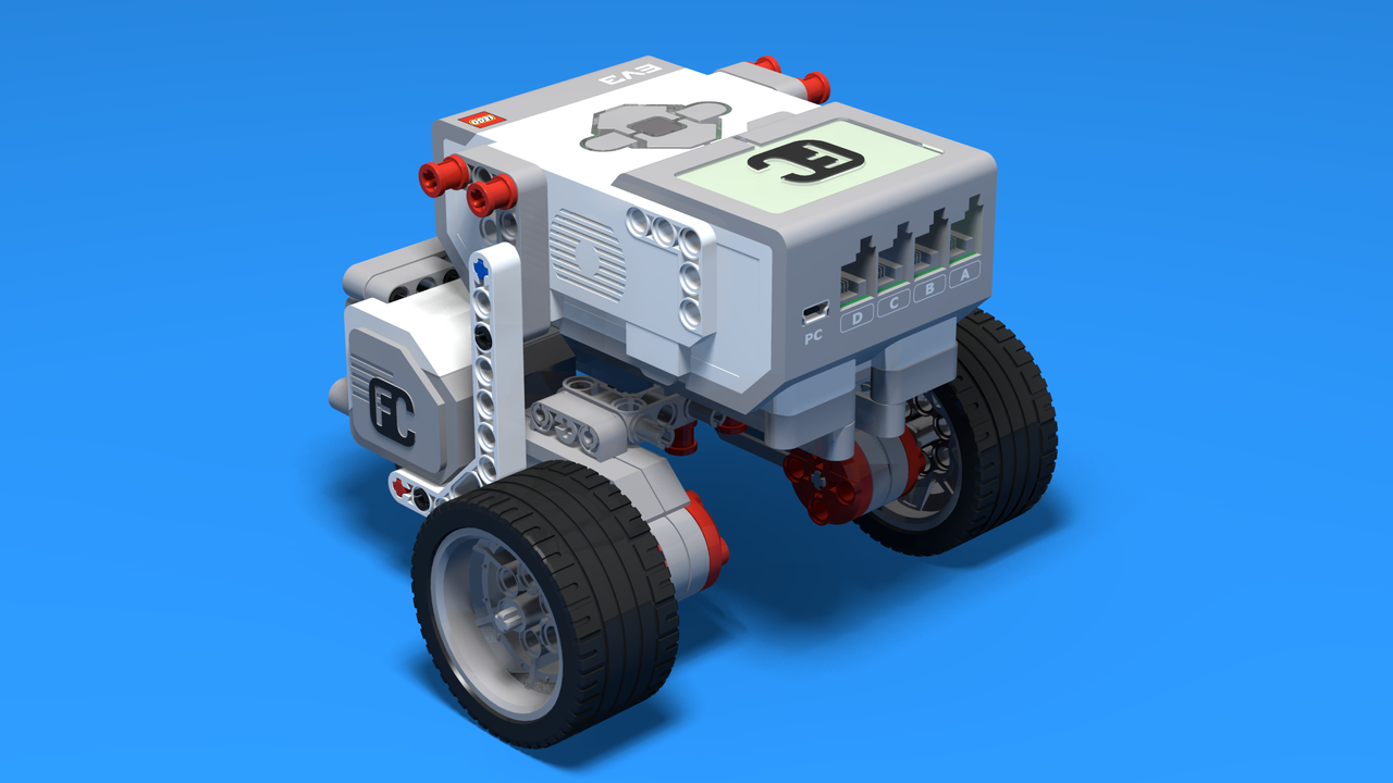 Image for LEGO Mindstorms робот с метално топче (CastorBot)