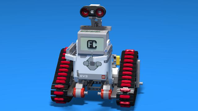 Image for Wall-E - LEGO EV3 Robot