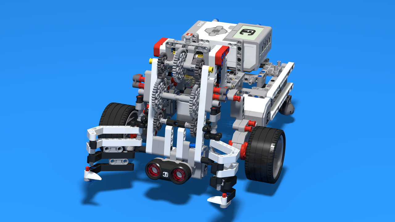 Image for WRO Catch and Move Robot. Light Version