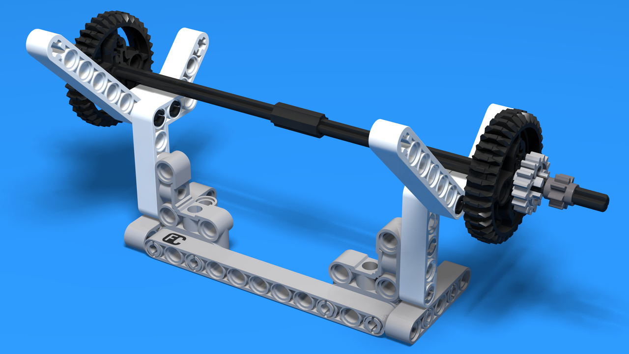 Image for MIssion 2 model for lifting with LEGO Mindstorms EV3