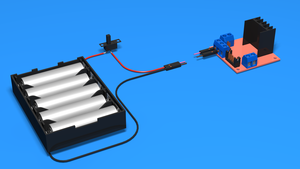 Image for Connecting batteries to the Motor Driver