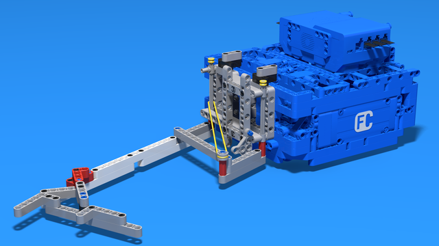 Image for FLL 2017: Attachment For Accomplishing The Slingshot (17th) Mission