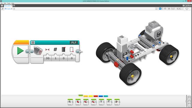 Image for PLF-block for steering robots