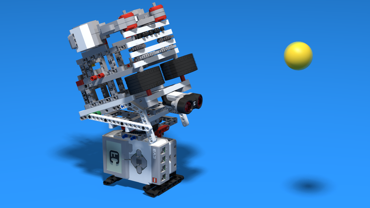Image for Torvi - Ball shooting Lego machine