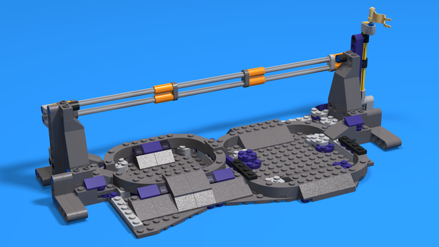 Image for Crater Crossing. Mission 04 from FIRST LEGO League 2018-2019 Into Orbit challenge