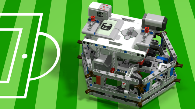 Image for WRO Football Goalkeeper from LEGO Mindstorms