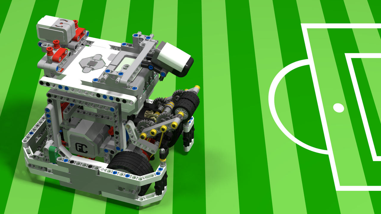 Image for WRO Football Striker from LEGO Mindstorms