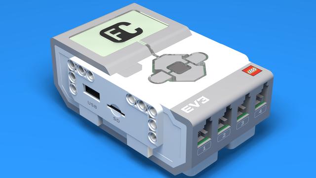 Image for Въведение в EV3 контролера - LEGO Mindstorms брикът