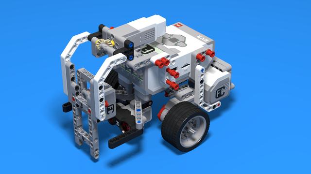 Image for CubeHunter - LEGO EV3 ball cube sorting robot