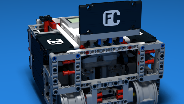 Image for How to on 'Easy Detach of Modules' in LEGO Mindstorms. Example with SUV Box Robot