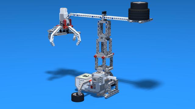 Image for Cron - LEGO Mindstorms EV3 Crane