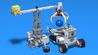 "Image for Level C2. ""Cooperation"". Robotics with LEGO"
